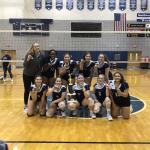 Freshman Volleyball Win First Tournament