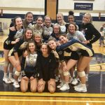 Niles Varsity Volleyball Takes Down Portage Northern In a Five Set Thriller On Senior Night