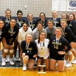 JV Volleyball faces adversity as they come out Champions at Loy Norrix Tourney