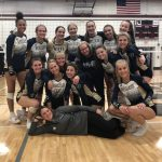 Niles Varsity Volleyball Sweeps Dowagiac 3-0 To Win the First Round of Districts