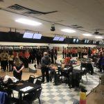 Junior varsity girls go 1-1 at first meet against varsity teams