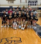 Niles Varsity Volleyball Sweeps Three Teams to Win Home Quad
