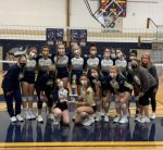 Niles Varsity Volleyball Wins BCS Athletic Conference Championship Outright Going 8-0