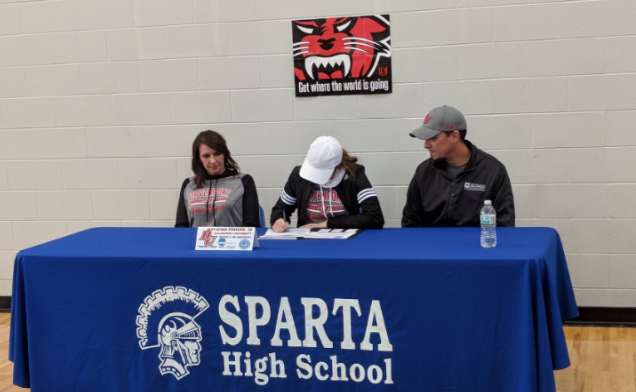 Hayleigh Powers Signs With Division 2 Davenport University for Track and Field