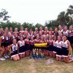 Cheerleaders Attended UCA Camp in Gulf Shores