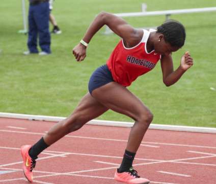 Article about Jasmine Griffin on Milesplit US (national website)