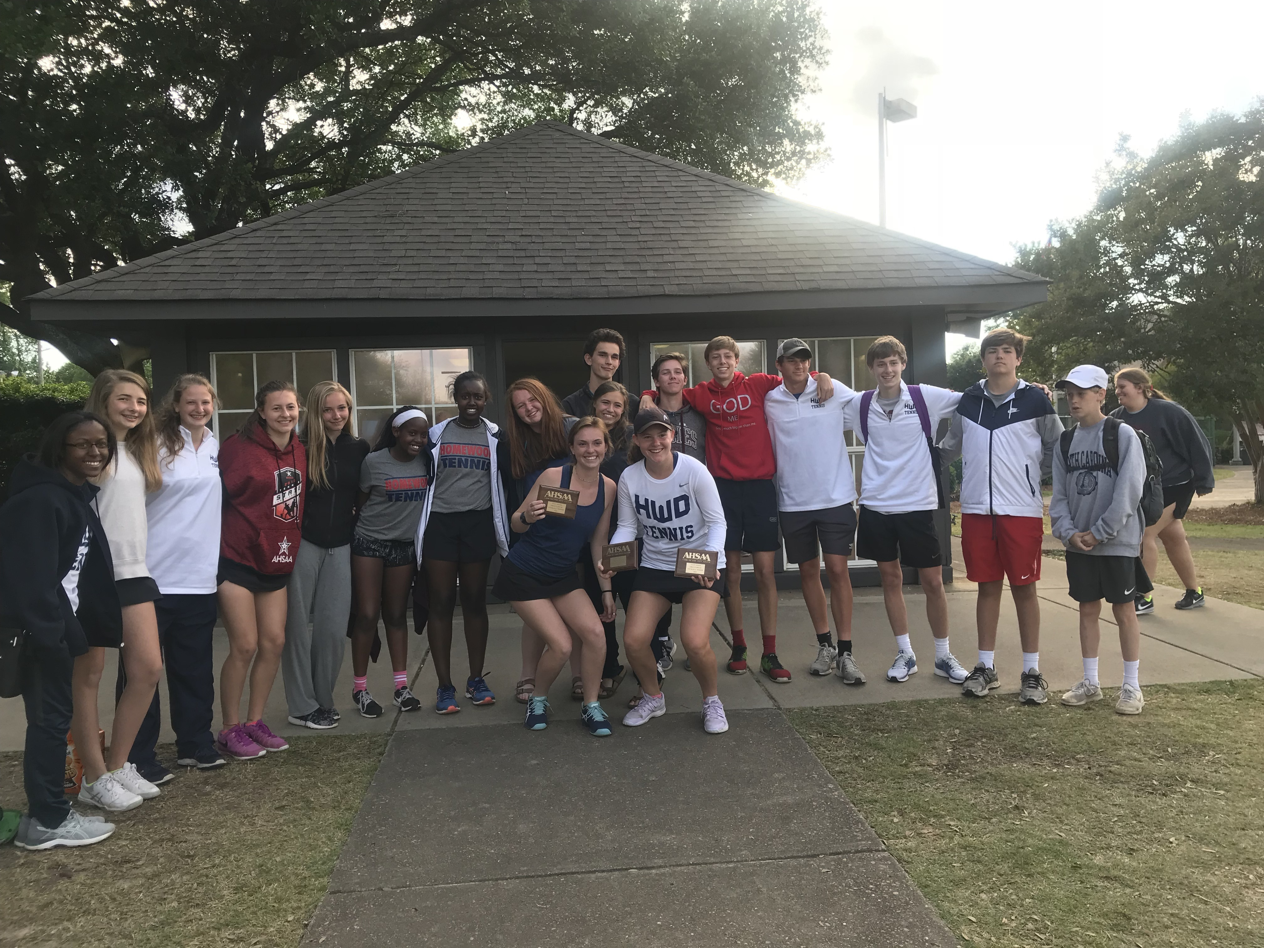Lady Patriot Tennis finishes 3rd, Boys finish 11th