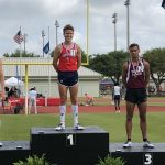 Patriots have a strong start to the 6A Track and Field State Championships