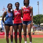 Hill wins, Mikula 3rd in 6A Girls Triple Jump
