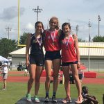 Brooks and Gibbons finish 1 & 3 in pole vault championship