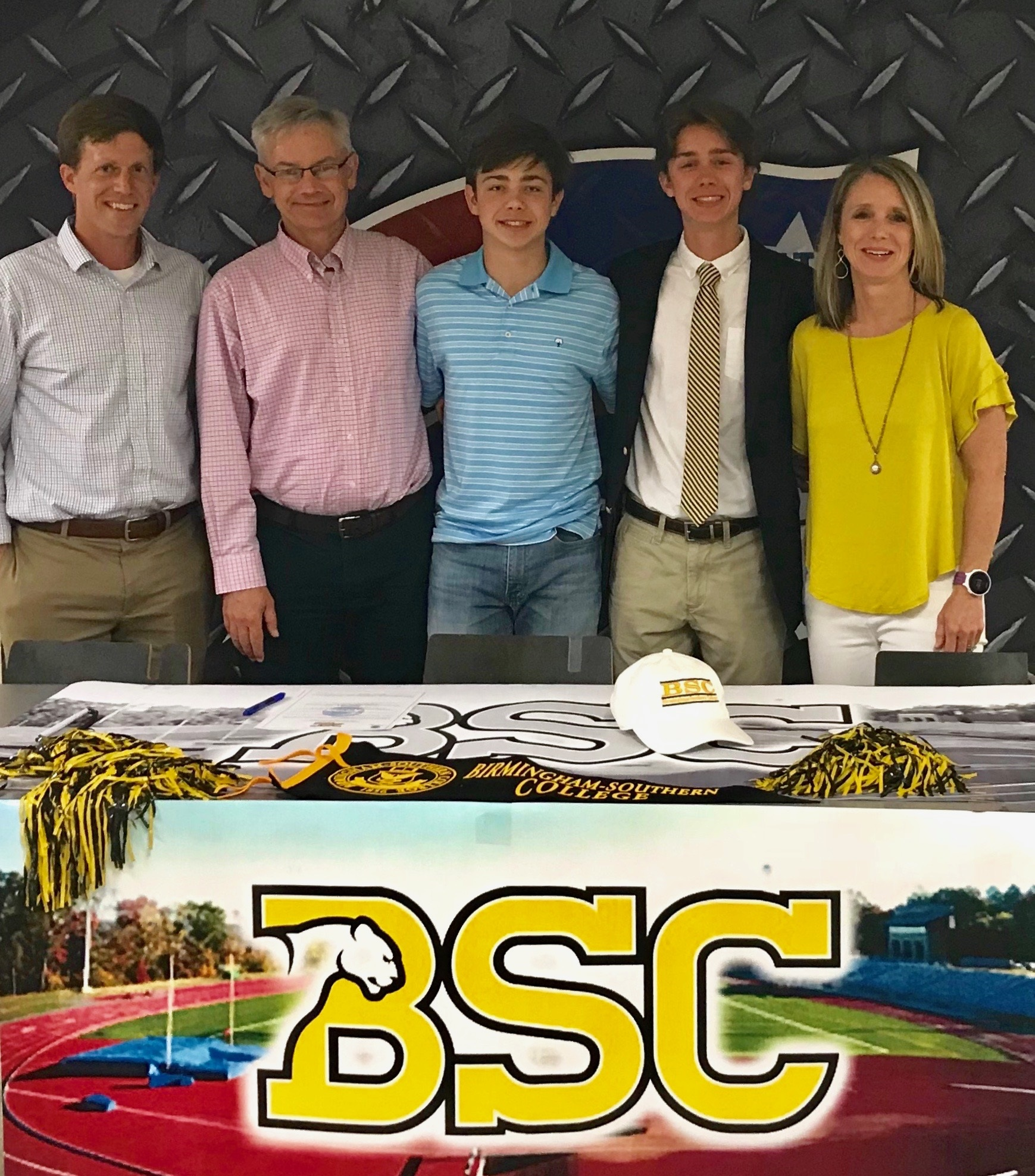 Lucas Lamb signs with Birmingham Southern
