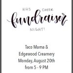 Tonight is Homewood High School Cheer night at Taco Mama and Edgewood Creamery