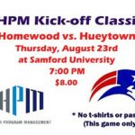Get your tickets for the HPM Kick-off Classic @HWD_Football @HomewoodSchools @hytfootball