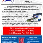 Join the NFHS Network and catch the action for Patriot Athletics