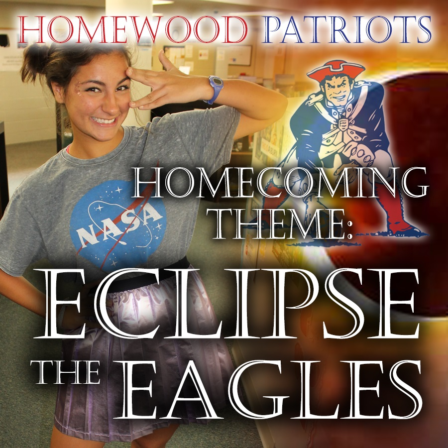 2018 Homewood High School Patriots Homecoming scheduled for Friday, September 28th, get your tickets on-line to avoid the lines @homewoodcityschools @GoFanHS