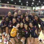 Volleyball wins Area 10 Championship!