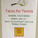 Tennis Fundraiser at Taco Mama-Edgewood on January 21