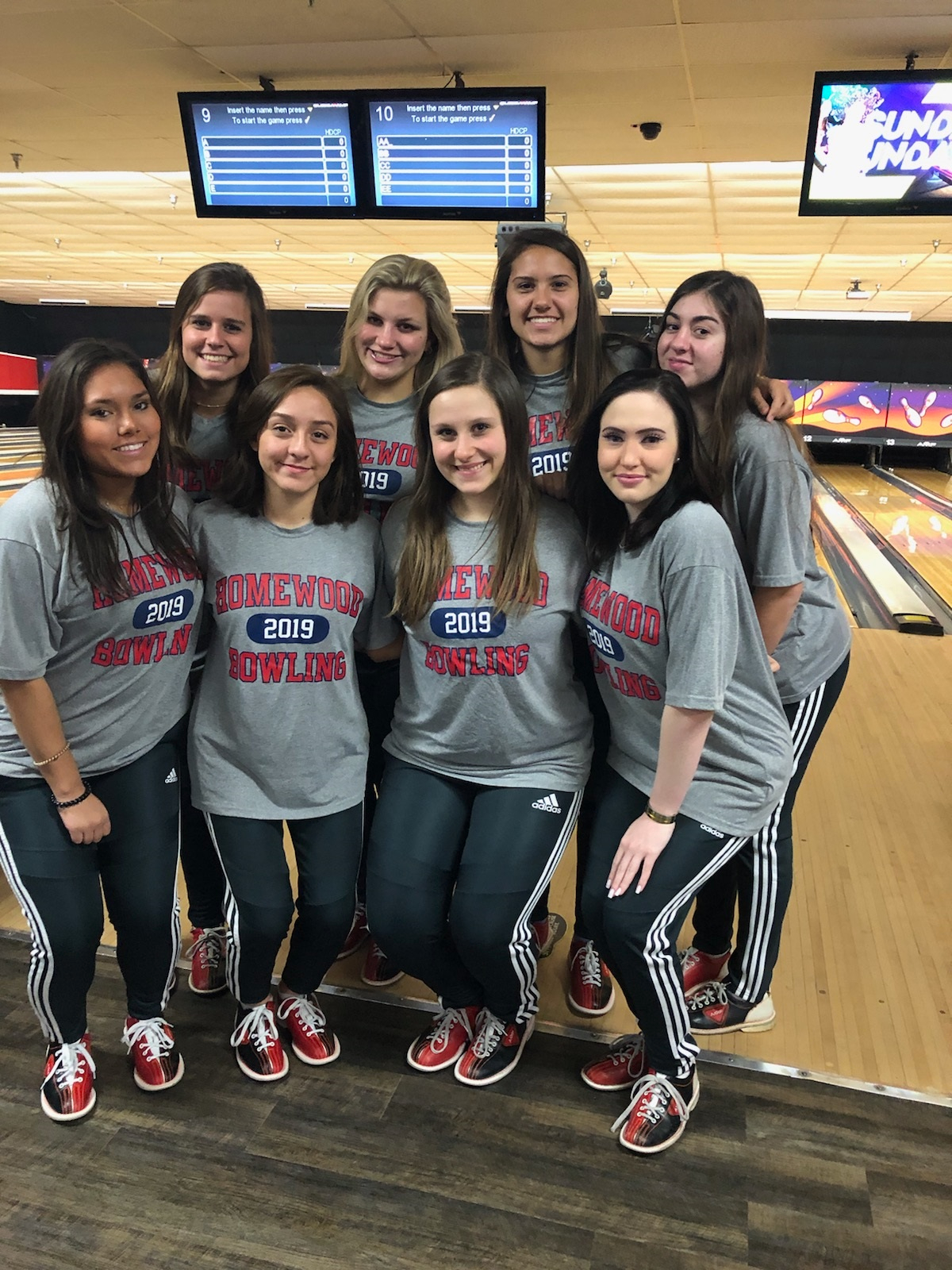 Girls Bowling at the AHSAA South Regionals today and tomorrow