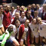 Girls Varsity Soccer beats Huntsville 1 – 0