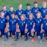 Boys Varsity Soccer beats Thomspson 3 – 2