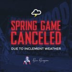 Spring Game Cancelled