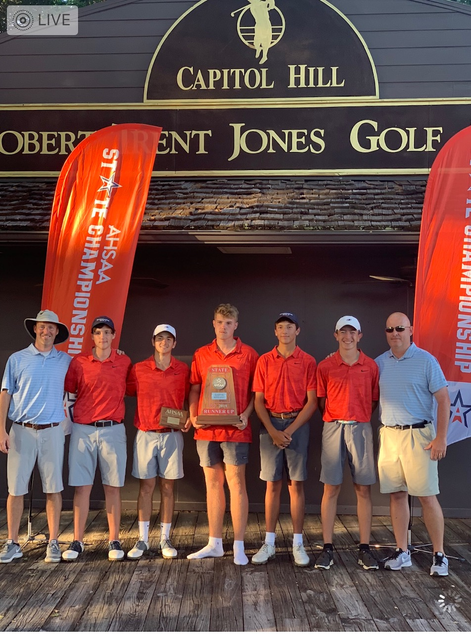 Homewood Boys Golf finishes second in 6A AHSAA State Championships