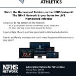Watch the Patriots on the NFHS Network
