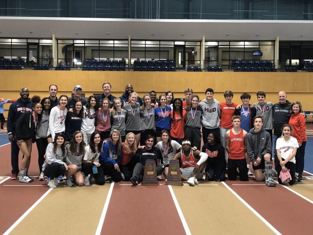 Homewood Track and Field Sweeps Indoor State Championships for 3rd Consecutive Year