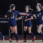 Girls Varsity Soccer Records Win in First Area Match of the Season