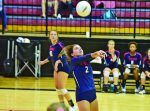 Volleyball falls to Mountain Brook in Area opener, 3-2