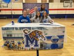 Sarah Smith signs with University of Memphis Volleyball