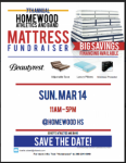 Homewood Athletics and Band mattress fundraiser set for March 14th