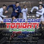 Boys Soccer takes on #1 Mountain Brook, Homewood students can enter for free