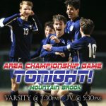 Boys Soccer playing for Area Championship tonight at Mt. Brook