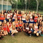Girls Track wins the Triangle Meet