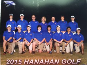 Golf Team Picture