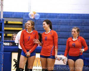 Varsity Volleyball Senior Night-photo gallery