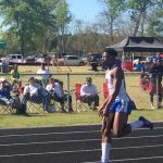Quincy Mitchell Breaks 100m Dash School Record