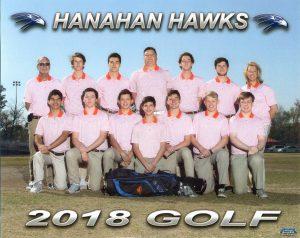 2018 Golf Team