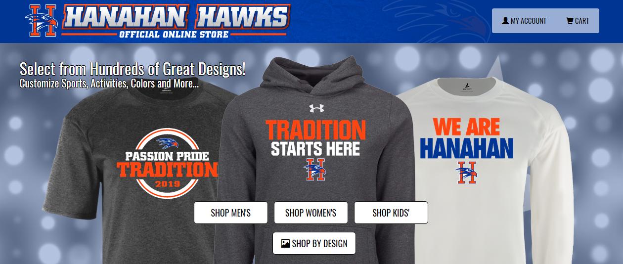 Hawks Online Store is OPEN!