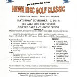 Hanahan Boy's Basketball Presents: Hawk Disc Golf Classic