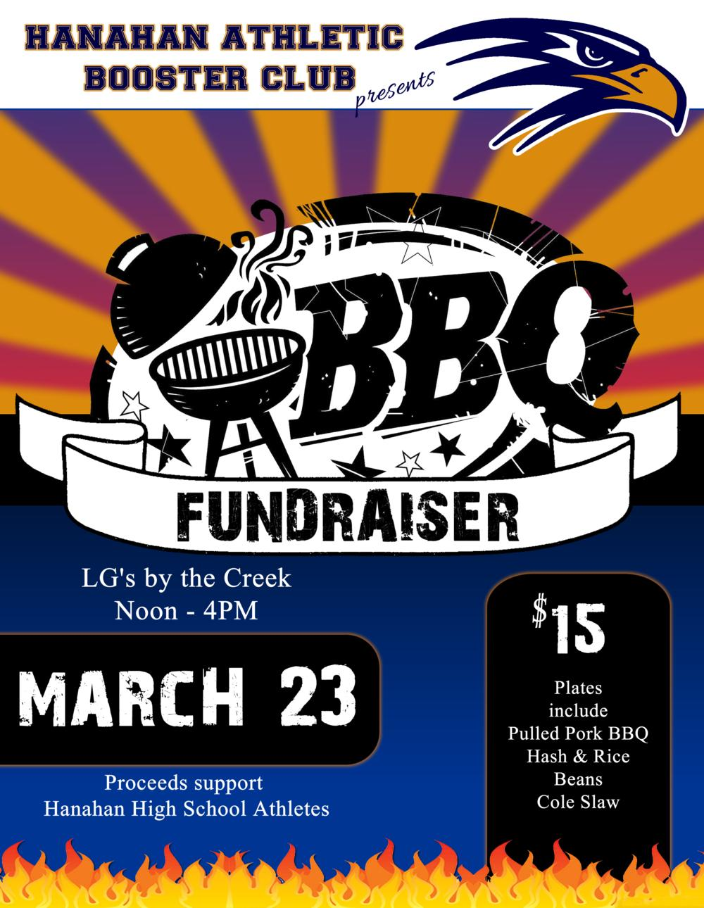 HABC BBQ Fundraiser @ LG's by the Creek on March 23rd