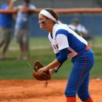 Cribb, Thrower lift Hawkettes in Lower State opener