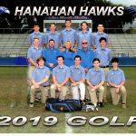 2019 Hanahan Golf Team Photo