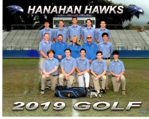 2019 Hanahan Golf Team Photo