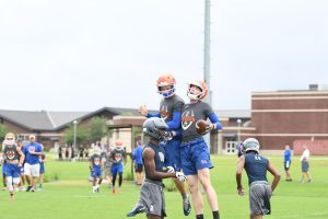 Hawks 7 on 7 at Cane Bay 6/13/19