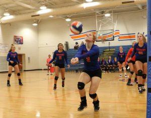 8.15.19:  Hanahan JV & Varsity Volleyball Scrimmage vs First Baptist (photo gallery)/Photos by Cyril Samonte