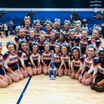 Hawks Varsity Competitive Cheer finishes 1st place at Cobra Cheer Classic