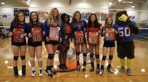 10.10.19:  Hanahan Varsity Volleyball (Senior Night) vs Georgetown HS/Photos by Cyril Samonte