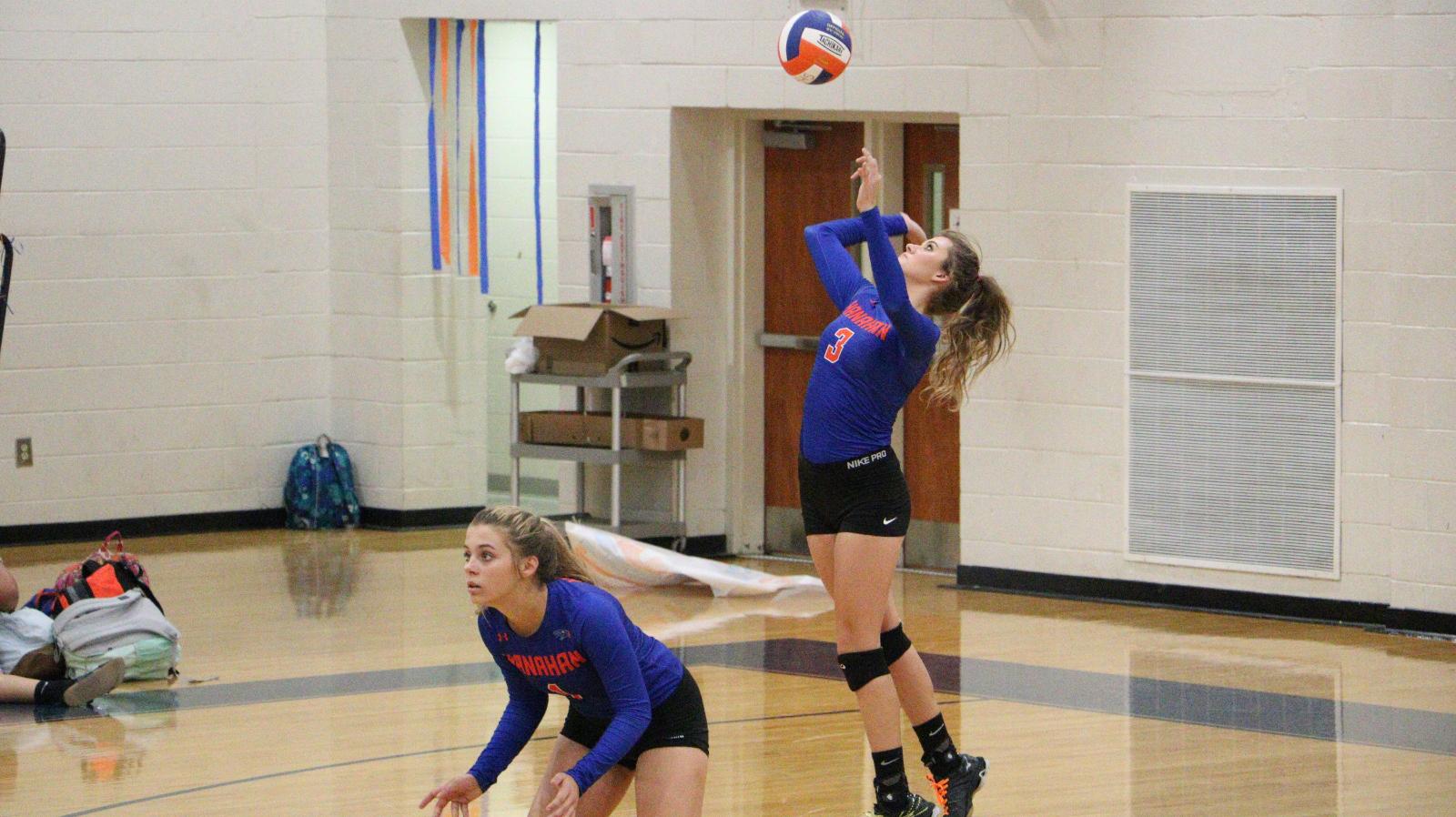 Volleyball Tie-Breaker Match on Monday